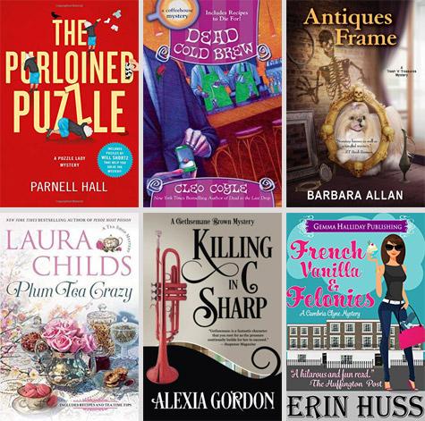 Cozy Bookshelf Shopping List March 2018 Criminal Element