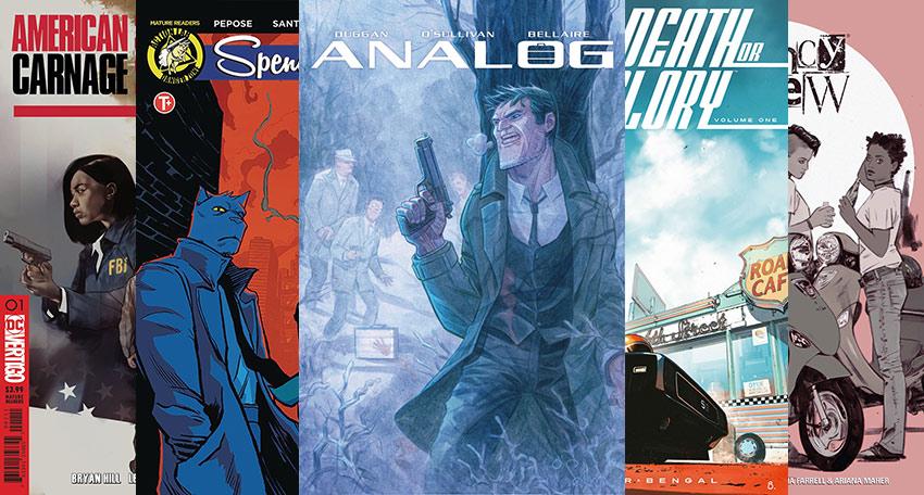 6 New Comic Series for Crime Fiction Fans Criminal Element