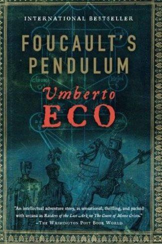 Cover of Foucault's Pendulum by Umberto Eco.