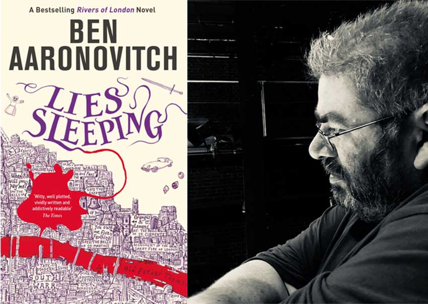 Ben Aaronovitch, author of Lies Sleeping