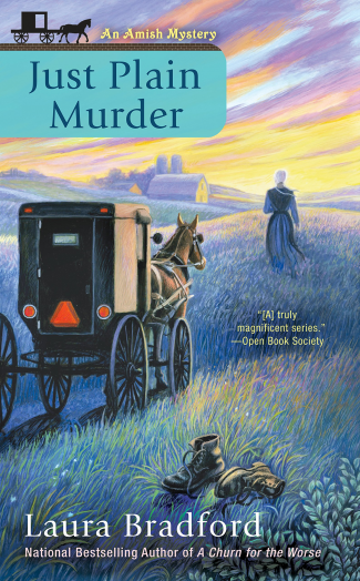 Just Plain Murder by Laura Bradford