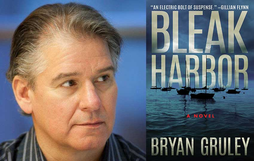 Bryan Gruley author of Bleak Harbor
