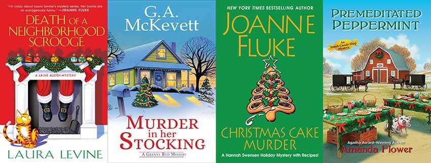 A Very Cozy Christmas Mystery Round-Up