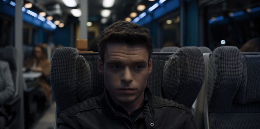Richard Madden as PS David Budd on Bodyguard
