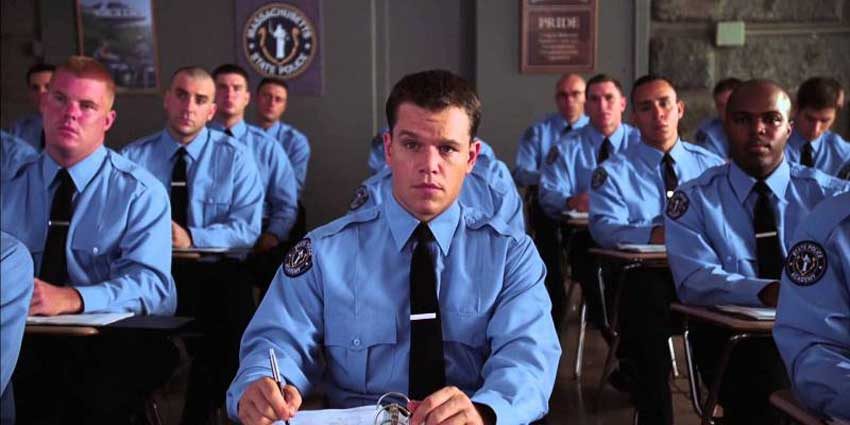 Colin Sullivan (Matt Damon) in <em>The Departed</em> (2006).
