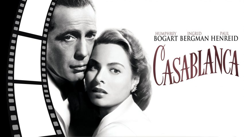Film poster for Casablanca.