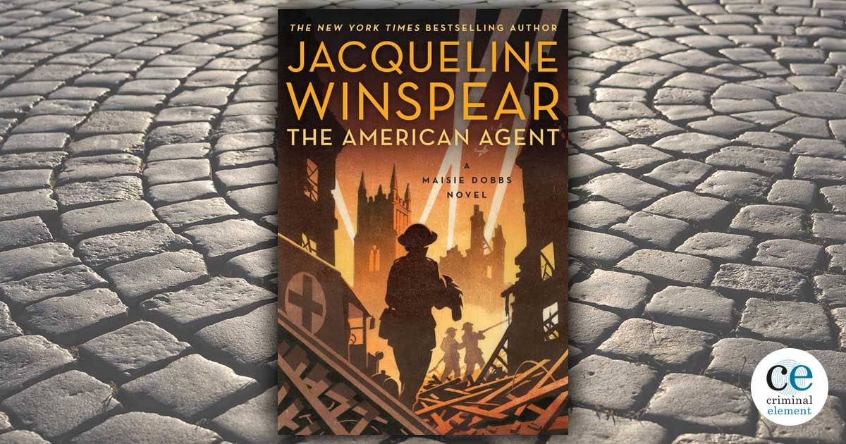 Book Review: The American Agent by Jacqueline Winspear - Criminal